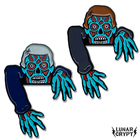 Alien Pocket Ghouls - Soft Enamel Pin - Your Choice of Styles!