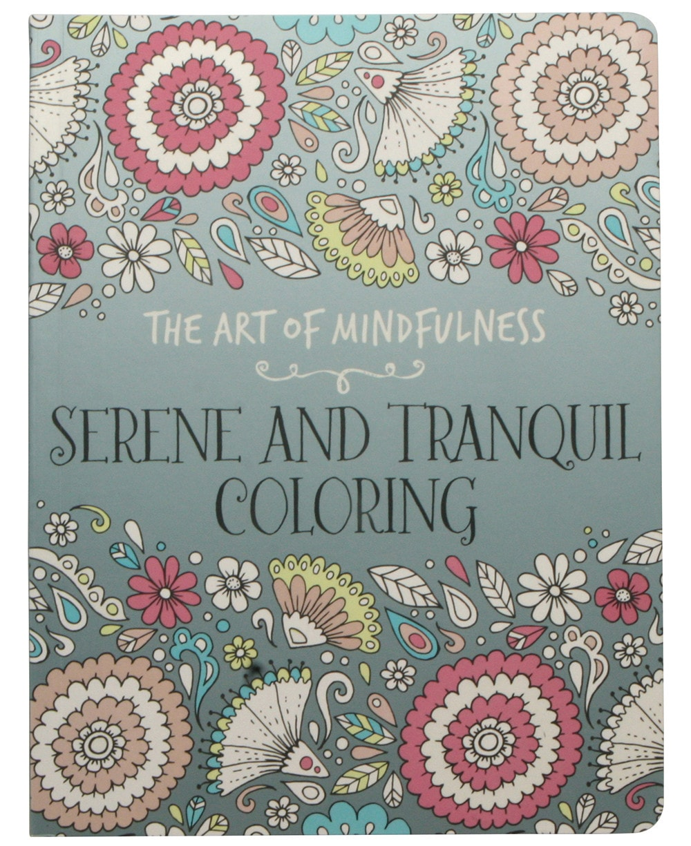 The Art of Mindfulness: Serene and Tranquil Coloring - Coloring Book Zone