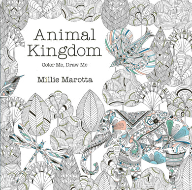 Animal Kingdom: Color Me, Draw Me - Coloring Book Zone