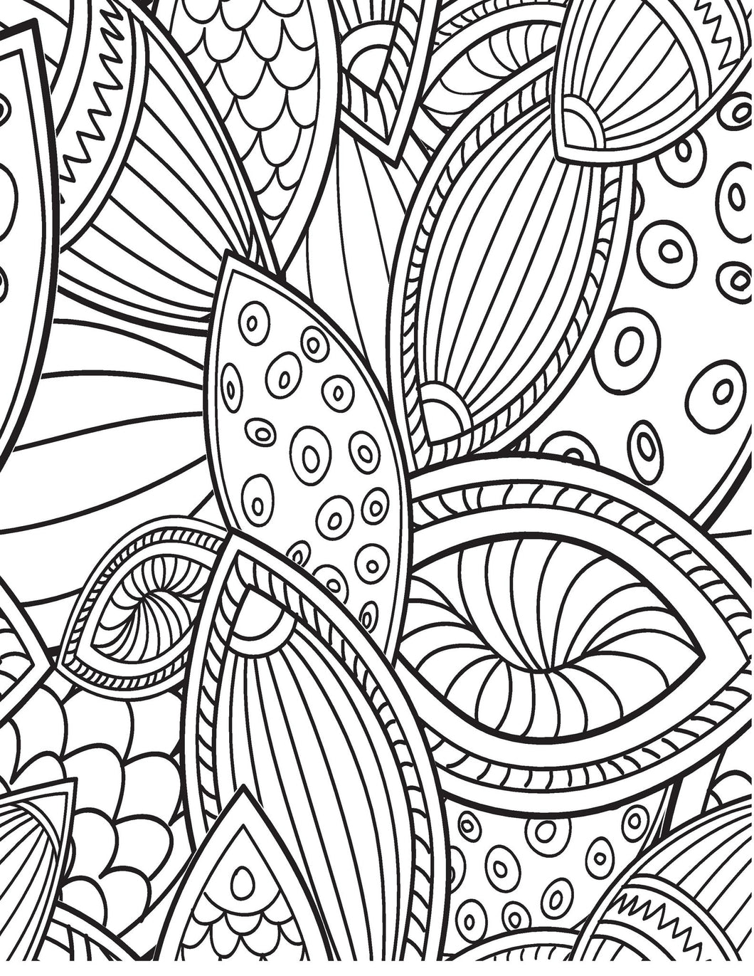 A Birthday Coloring Book Just for You! - Live Your Life in Color ...