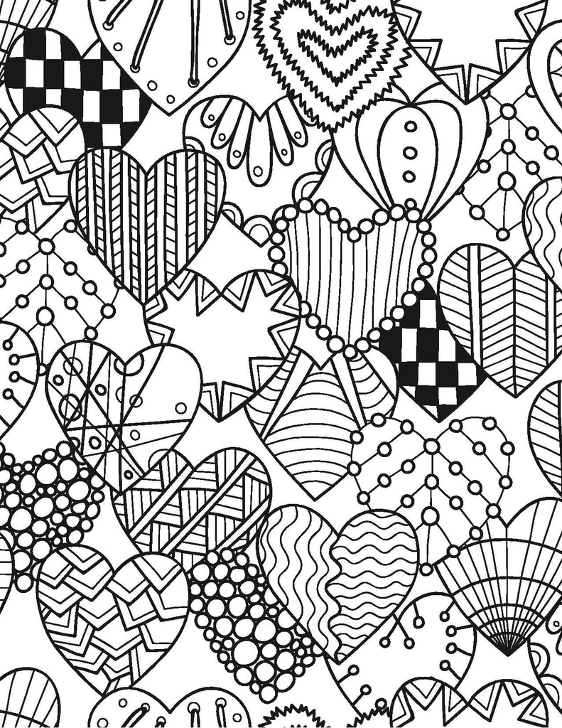 Adult Coloring For The Bride To Be Live Your Life In