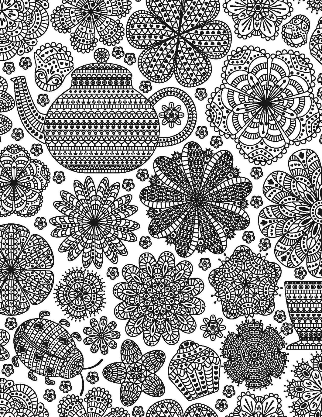 Extreme designs for adults who color live your life in for Extreme coloring pages