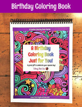 A Birthday Coloring Book Just for You! - Live Your Life in Color Series - Coloring Book Zone