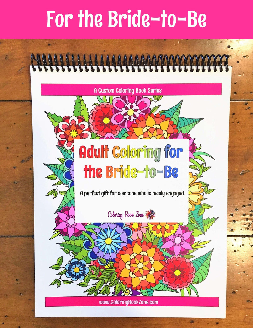 Adult Coloring for the Bride-to-Be - Live Your Life in Color Series ...