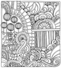 Color Me Stress Free: Nearly 100 Coloring Templates to Unplug and Unwind - Coloring Book Zone