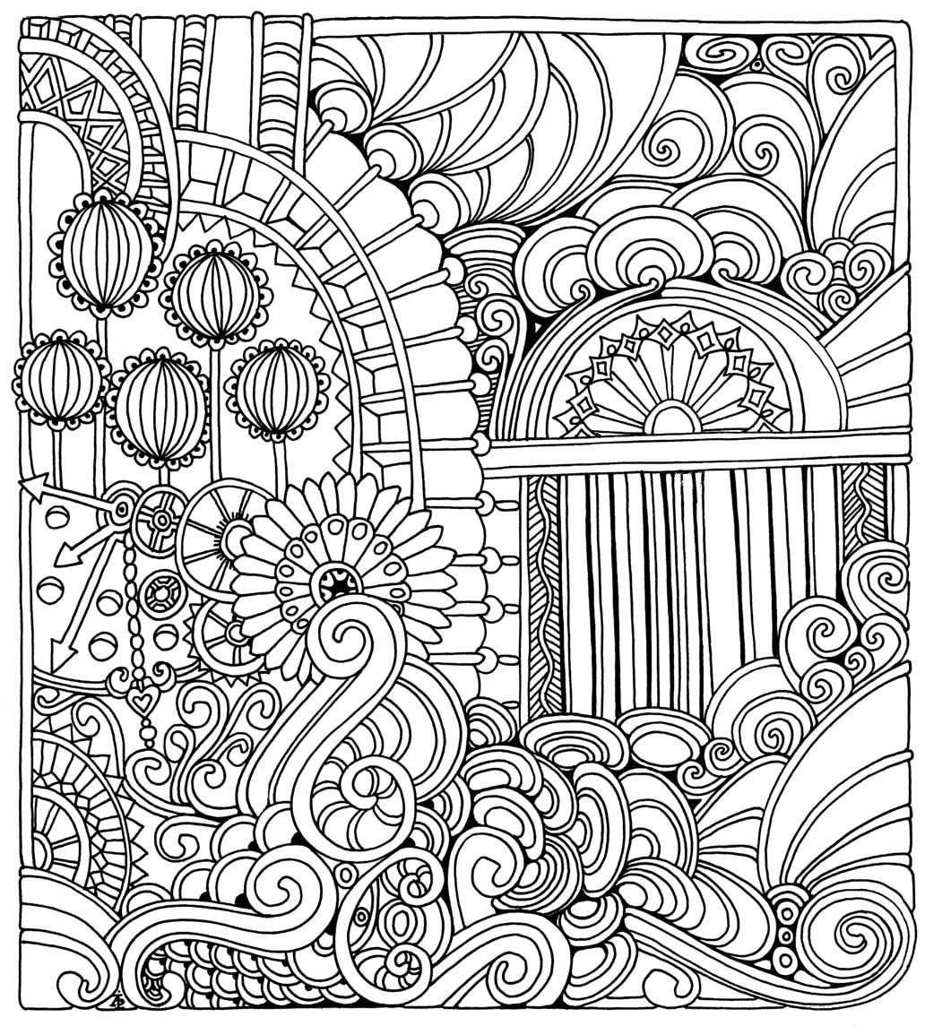 Color Me Stress Free: Nearly 100 Coloring Templates to Unplug and ...