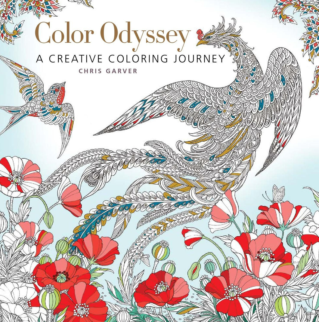 Color Odyssey: A Creative Coloring Journey - Coloring Book Zone