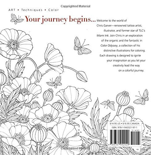 Color Odyssey: A Creative Coloring Journey – Coloring Book Zone