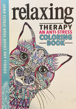 Relaxing Therapy: An Anti-Stress Coloring Book - Coloring Book Zone - 1