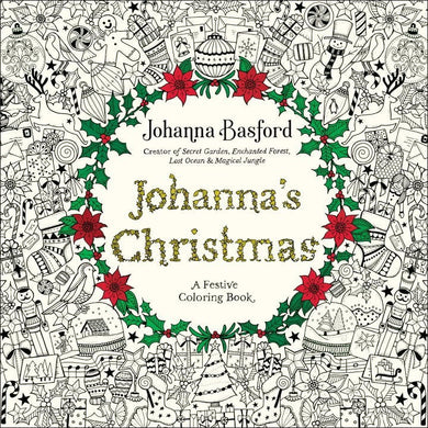 Johanna's Christmas: A Festive Coloring Book - Coloring Book Zone - 1