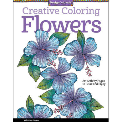 Creative Coloring Flowers - Coloring Book Zone