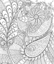 Zendoodle Coloring: Creative Sensations: Hypnotic Patterns to Color and Display - Coloring Book Zone
