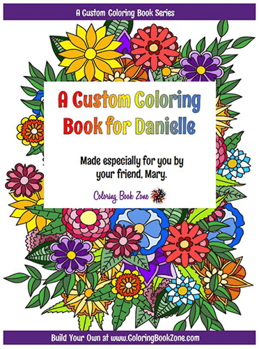 30 page Build Your Own Coloring Book - Coloring Book Zone