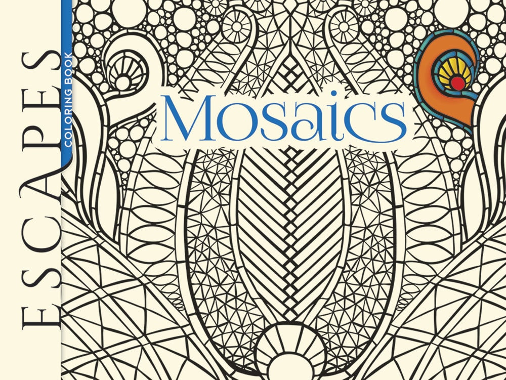 Escapes: Mosaics – Coloring Book Zone