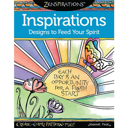 Zenspirations Inspirations: Designs to Feed Your Spirit - Coloring Book Zone