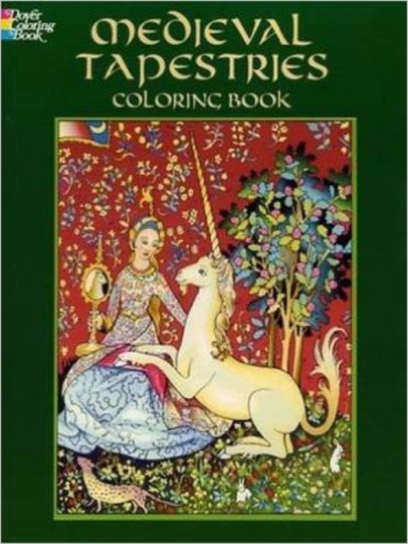 Medieval Tapestries Coloring Book - Coloring Book Zone