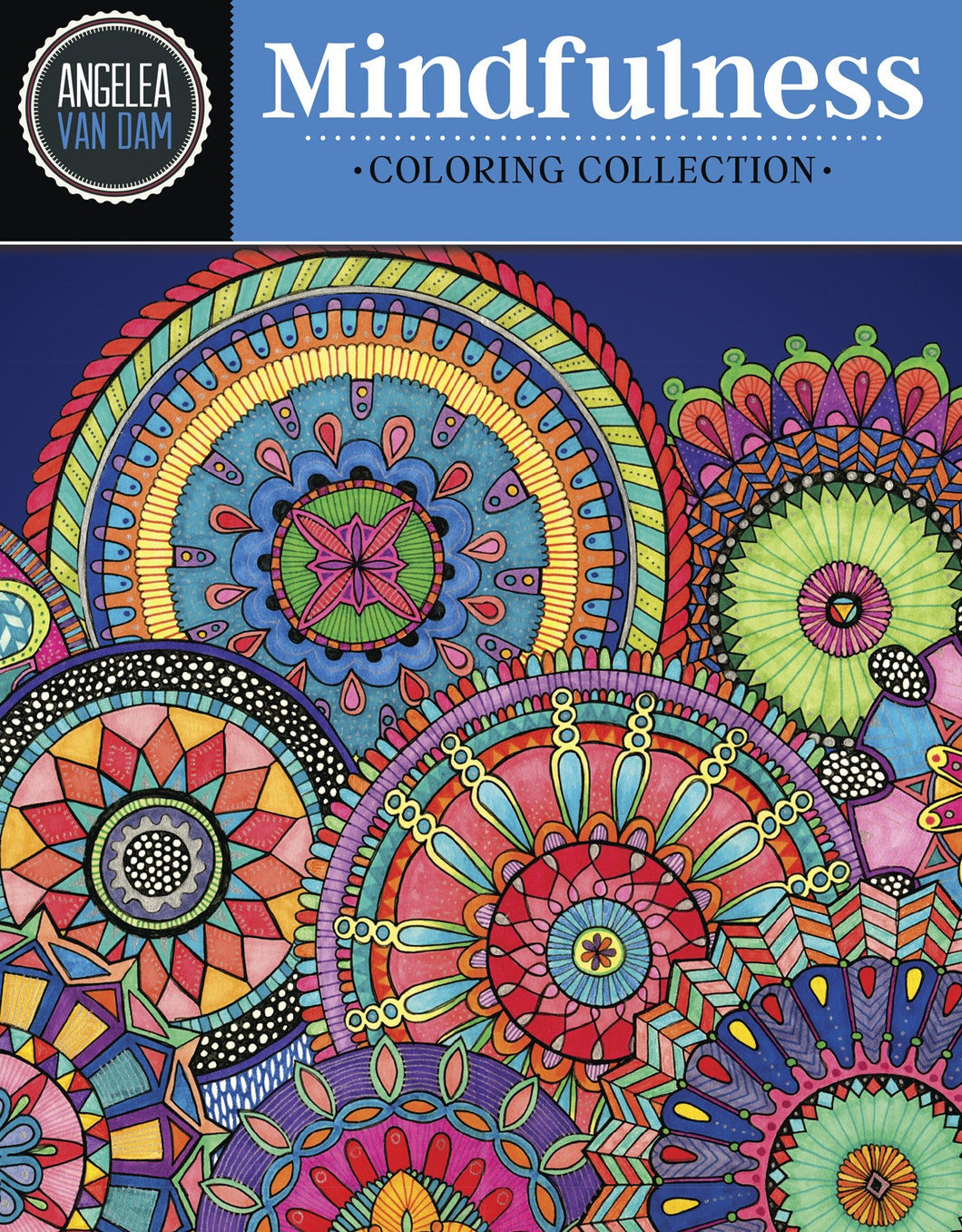 Hello Angel Mindfulness Coloring Collection - Coloring Book Zone - 1