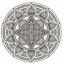 Mandala Meditation Coloring Book - Coloring Book Zone