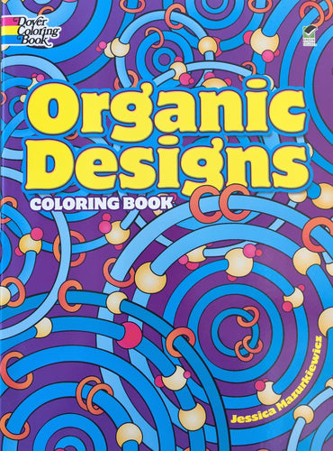 Organic Designs Coloring Book - Coloring Book Zone
