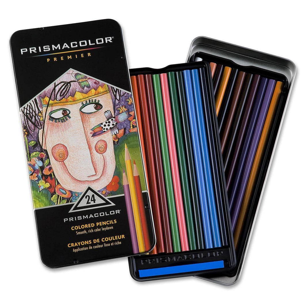 Prismacolor Premier Colored Pencils - 24 Count - Coloring Book Zone