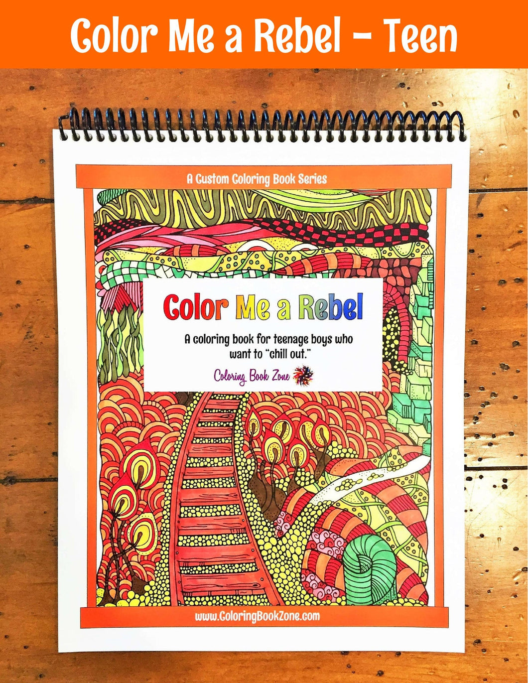 Color book for me - Color Me A Rebel Live Your Life In Color Series Coloring Book Zone