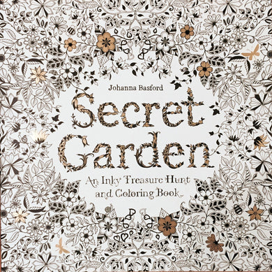 Secret Garden: An Inky Treasure Hunt and Coloring Book - Coloring Book Zone