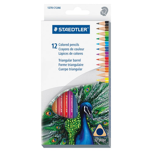 Staedtler Triangular Colored Pencils - Coloring Book Zone