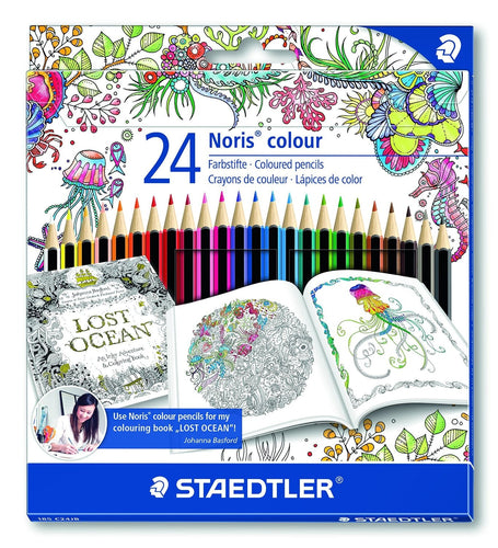 Staedtler Noris Colored Pencils: Johanna Basford Edition - Coloring Book Zone