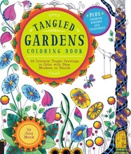Tangled Gardens Coloring Book - Coloring Book Zone