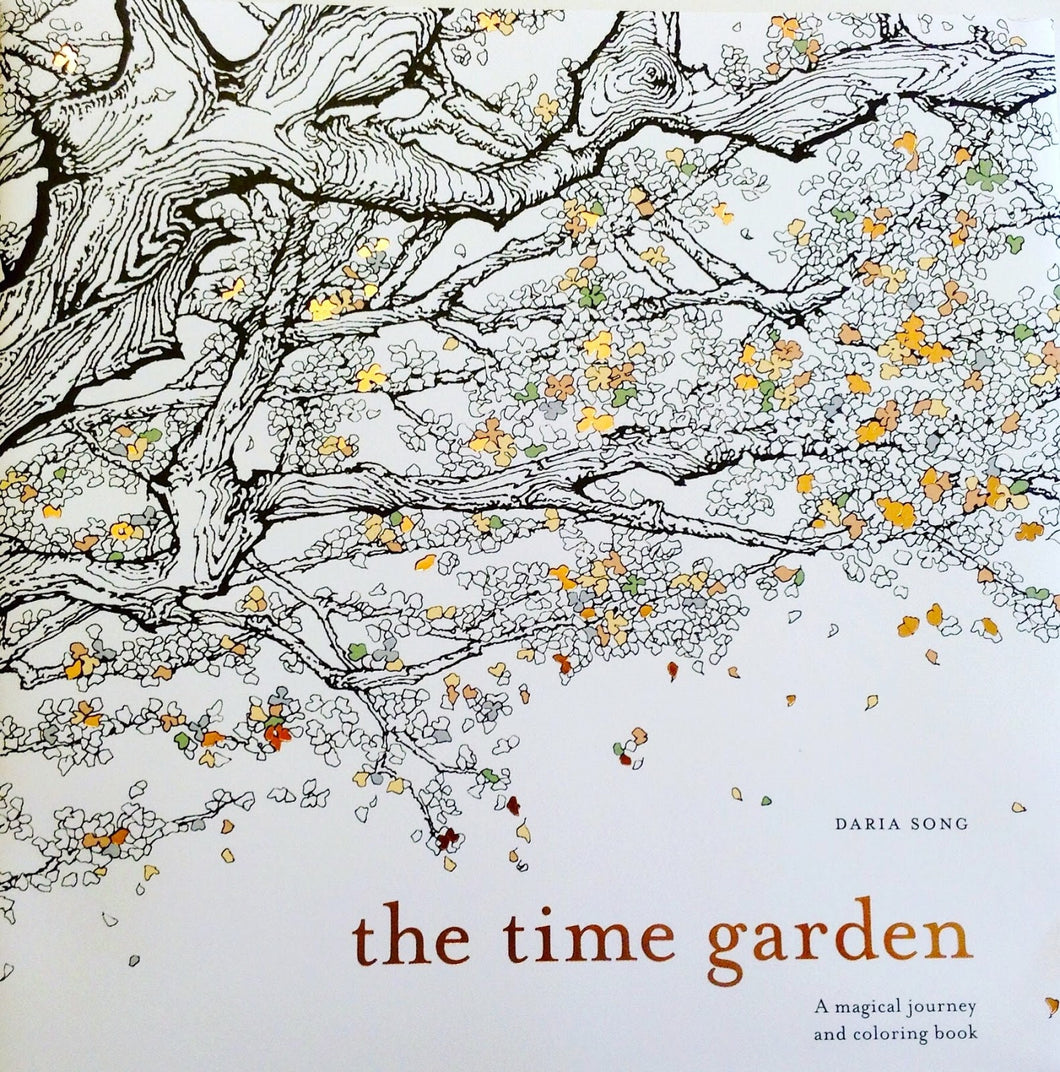 The Time Garden A Magical Journey Coloring Book