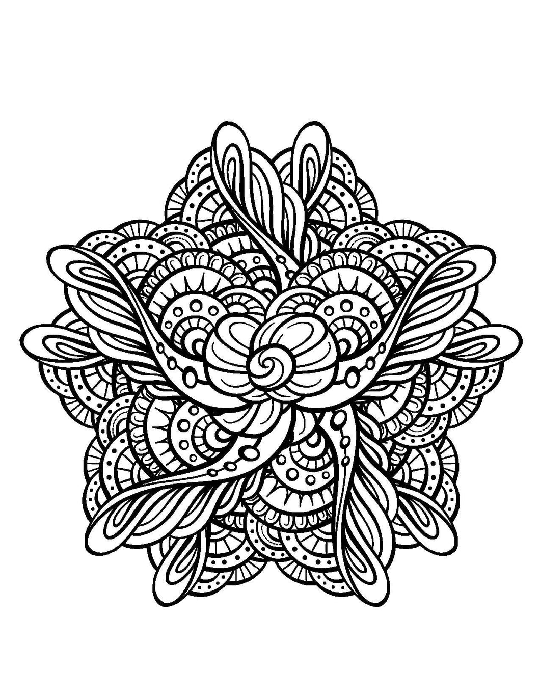 Magical Mandalas For Adults Who Color Live Your Life In