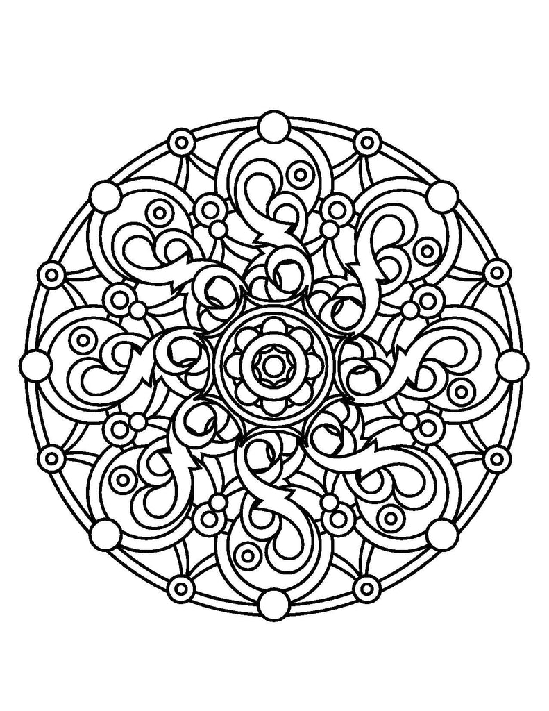 Magical Mandalas For Adults Who Color