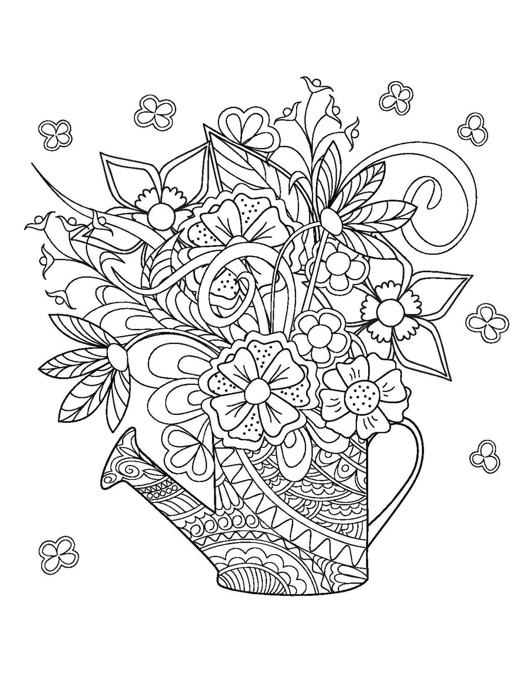 Adult Coloring for the BridetoBe