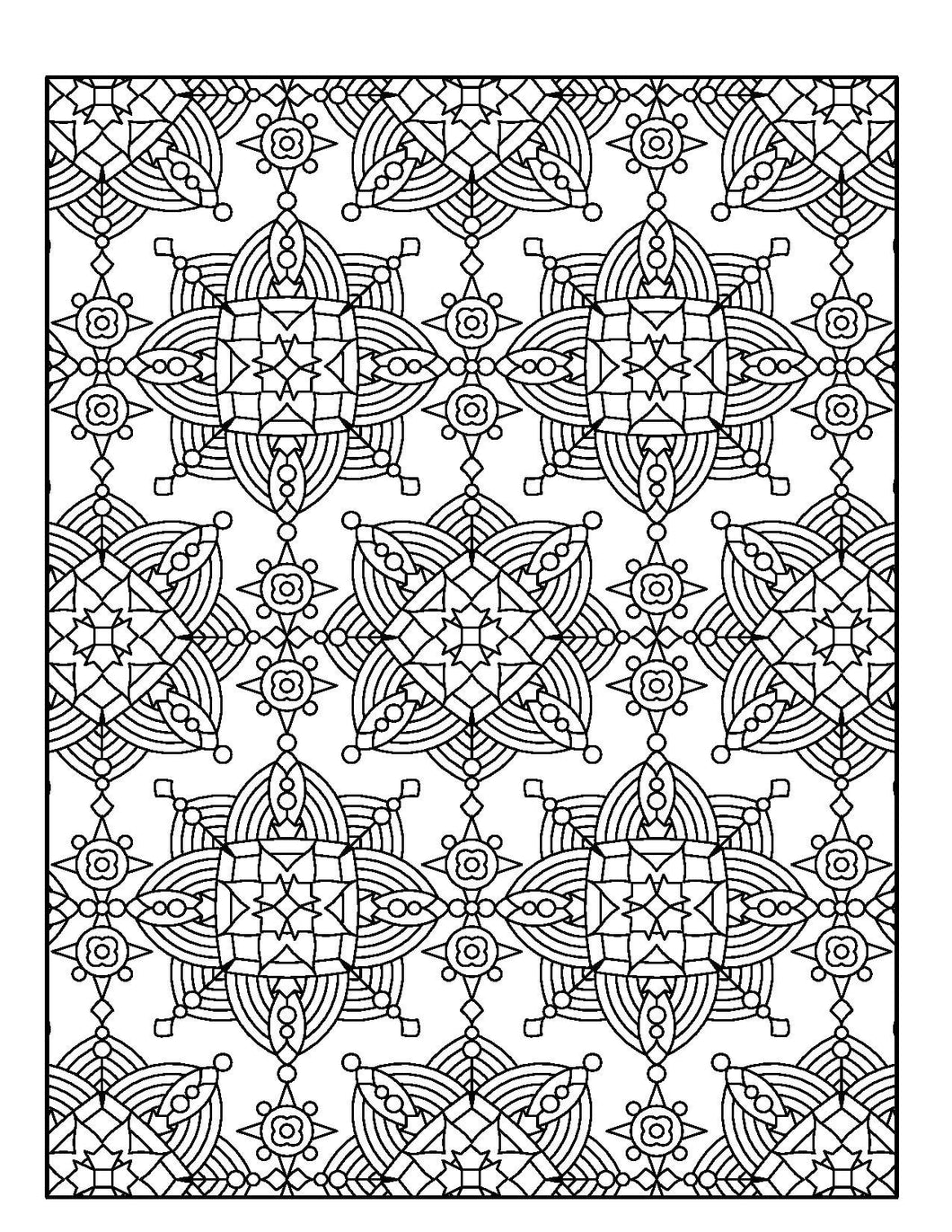 Calming Patterns for Adults Who Color - Live Your Life in ...