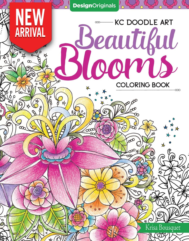 Beautiful Blooms Coloring Book - Coloring Book Zone