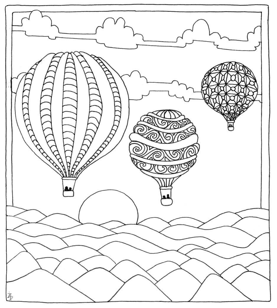 Color Me Happy: 100 Coloring Templates That Will Make You Smile ...