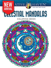 Creative Haven Celestial Mandalas Coloring Book - Coloring Book Zone