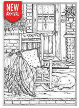 Creative Haven Country Farm Scenes - Coloring Book Zone