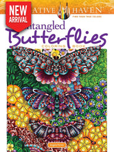 Creative Haven Entangled Butterflies Coloring Book - Coloring Book Zone