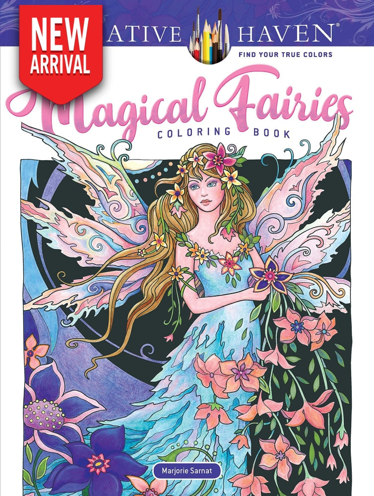 Creative Haven Magical Fairies - Coloring Book Zone