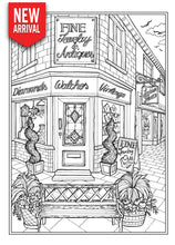 Creative Haven Main Street Coloring Book - Coloring Book Zone