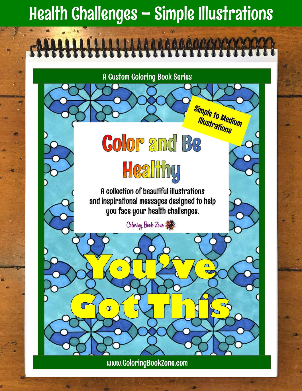 Health Challenges Coloring Book