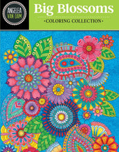 Hello Angel Big Blossoms Coloring Collection - Coloring Book Zone