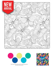 Hello Angel Bright & Beautiful Jumbo Design Collections for Artists & Crafters - Coloring Book Zone