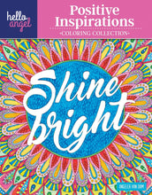 Hello Angel Positive Inspirations Coloring Collection - Coloring Book Zone