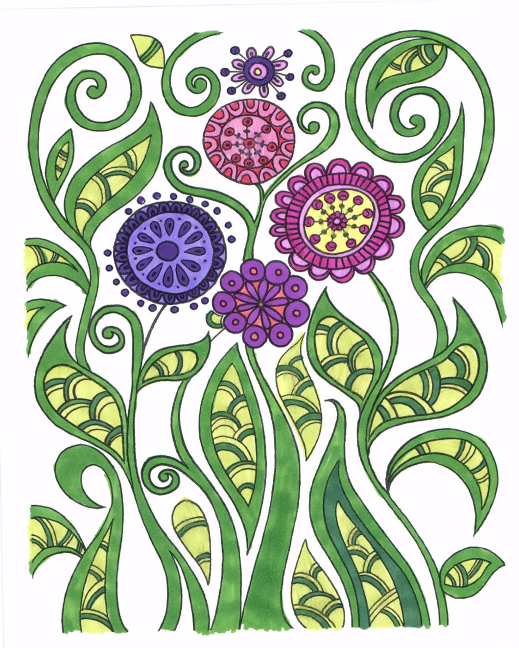 The Art Of Mindfulness Serene And Tranquil Coloring