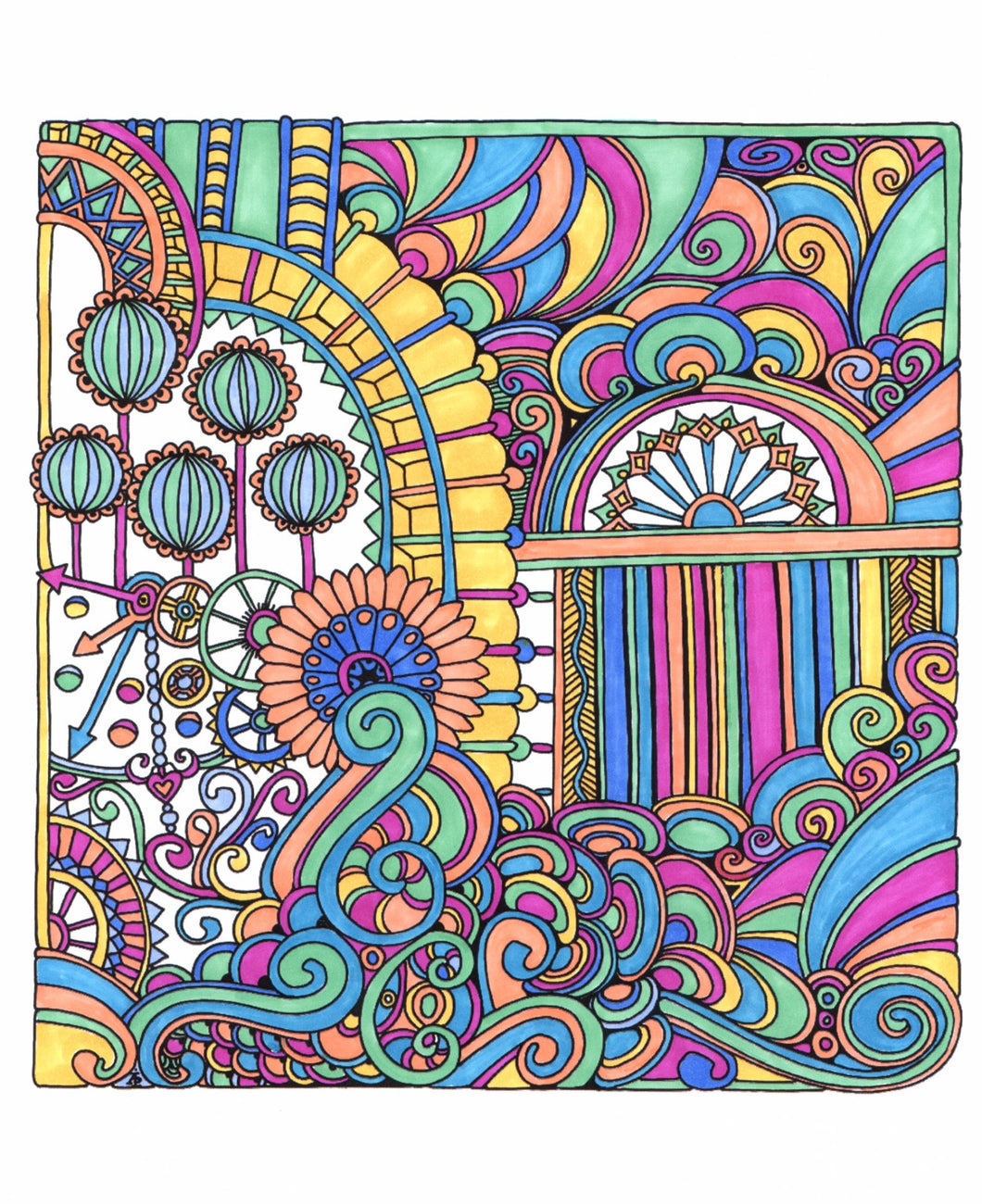 Stress free coloring book -  Color Me Stress Free Nearly 100 Coloring Templates To Unplug And Unwind Coloring Book