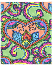 Adult Coloring for the Bride-to-Be - Live Your Life in Color Series - Coloring Book Zone