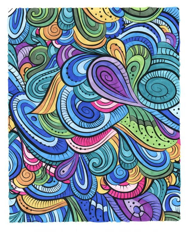 Calming Patterns for Adults Who Color Live Your Life in Color