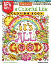 Live a Colorful Life Coloring Book - Coloring Book Zone